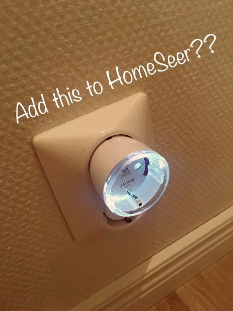 Add z-wave to HomeSeer