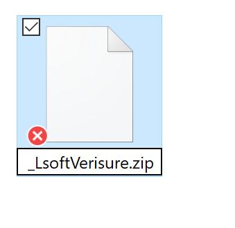 add zip in filename